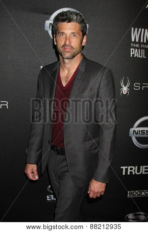 LOS ANGELES - FEB 16:  Patrick Dempsey at the