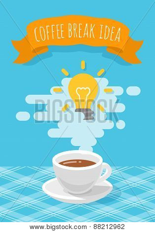Coffee Break Inspirational Idea