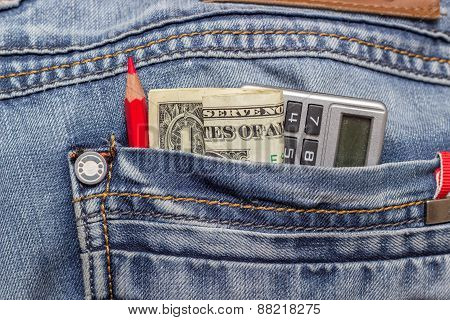 Dollar Jeans Pencil
