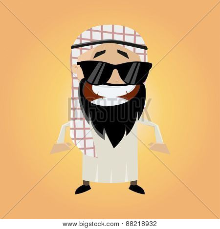 funny cartoon arab