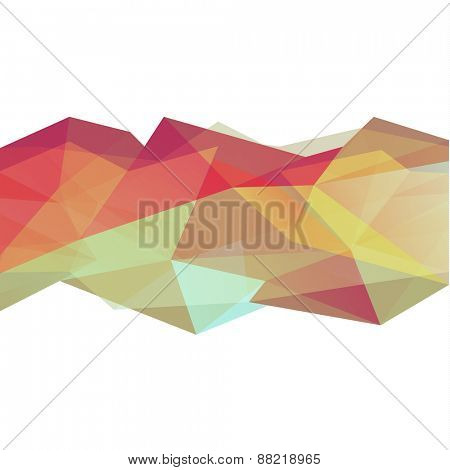 Abstract geometric triangles background - eps10