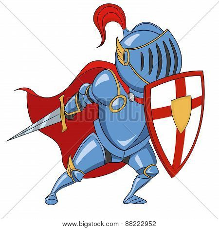 Knight with shield.