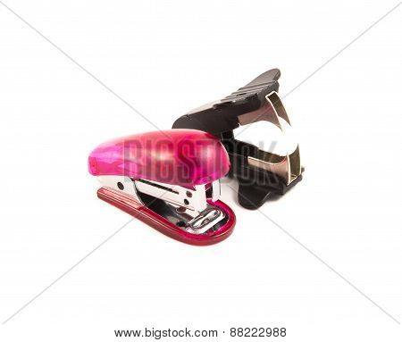stapler and staple remover