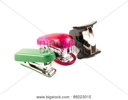 two stapler and staple remover