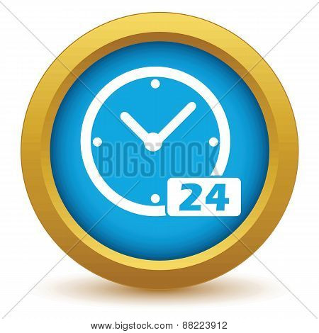 Best gold clock icon