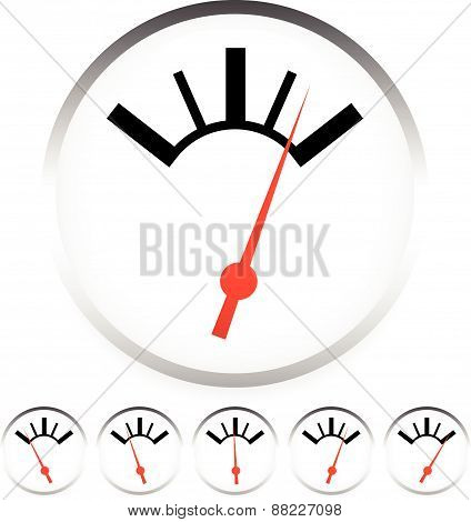 Generic Dial, Gauge, Guage. Measurement, Level Indicators.