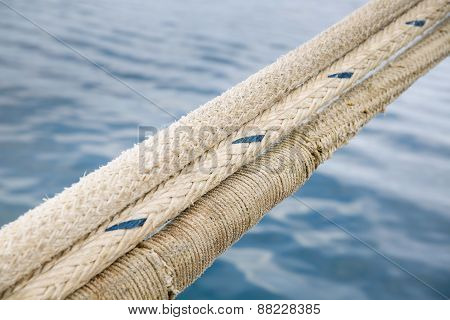 Heavy Duty And Weathered Ropes