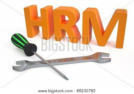 Human Resource Management (hrm) Service Concept