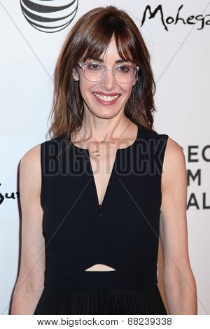NEW YORK, NY - APRIL 16: Director Andrea Nevins attends the premiere of 'Play It Forward' during the 2015 Tribeca Film Festival  on April 16, 2015 in New York City.