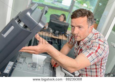 Fixing a printer