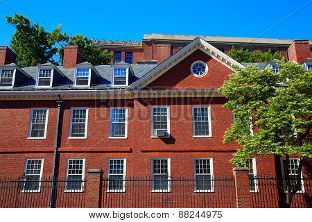 Harvard University in Cambridge Massachusetts USA