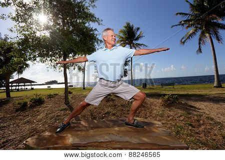 Well balanced senior
