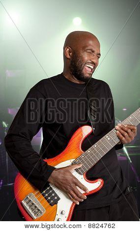 Passionate bassist