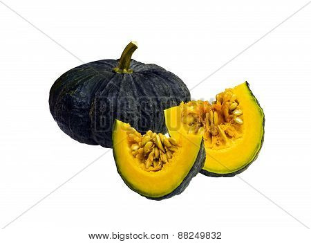 Ripe Pumpkin Isolated