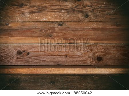 wooden shelf.