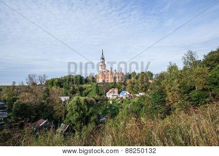 Novo-Nikolsky Cathedral. Mozhajskij Kremlin, Mozhaysk, Russia
