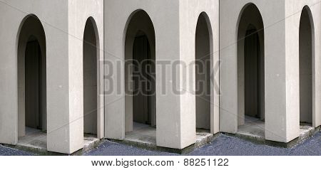 Muliple Arched Doorways