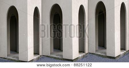 Muliple Arched Doorways