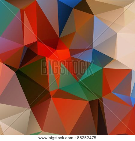 bright polygonal background