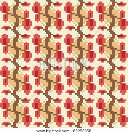 pattern texture background red orange