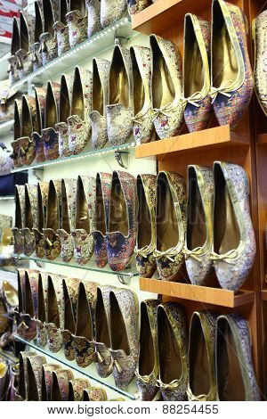 Shoes in Grand Bazaar
