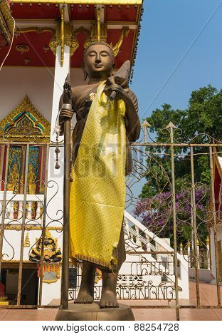 monk statue for Shin Thiwali or Sivali