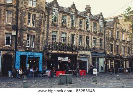 Grassmarket i Edinburgh