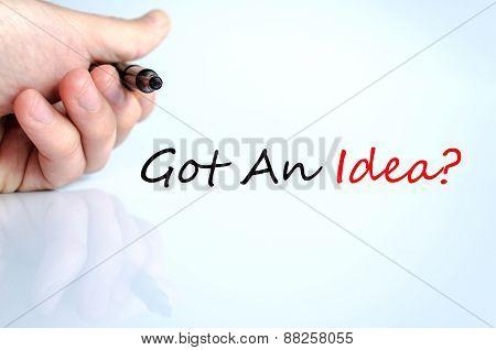 Got An Idea Concept