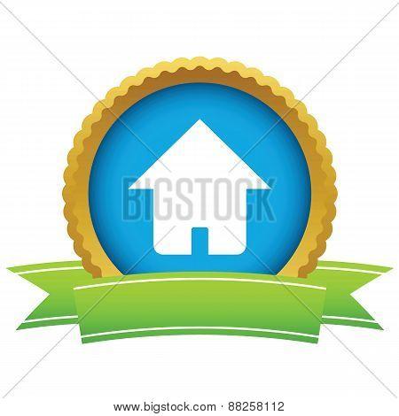 Gold home logo