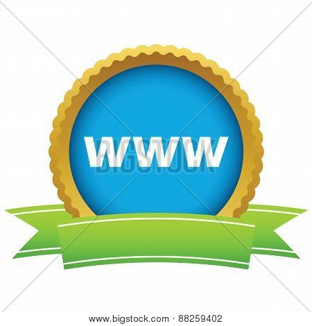 Gold www logo