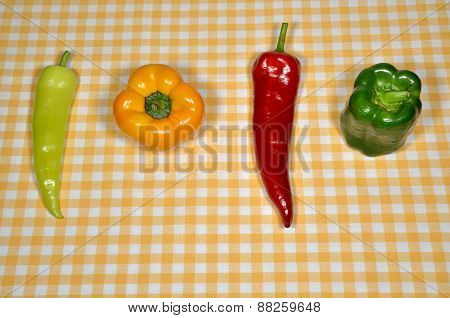 Different Peppers