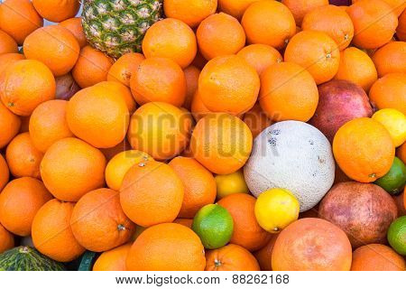 Oranges and other fruits