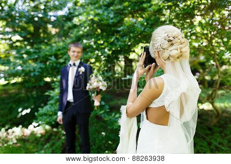Bride Shooting Of Her Fiance