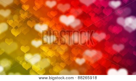 bokeh and hearts