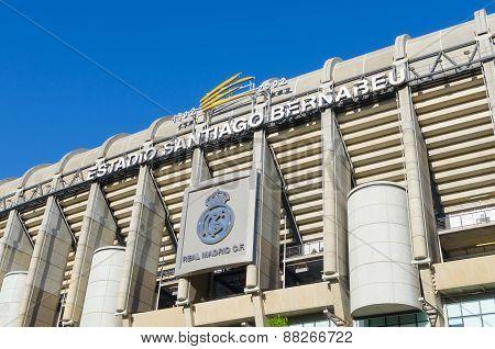 Real Madrid Facade