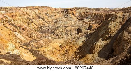 Copper mine workings