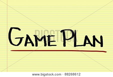 Game Plan Concept