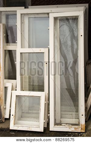 Recycled Window Frames