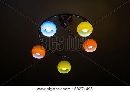 Multicoloured Lamps