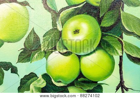 Painted Apples