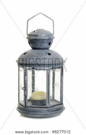 old metal lantern