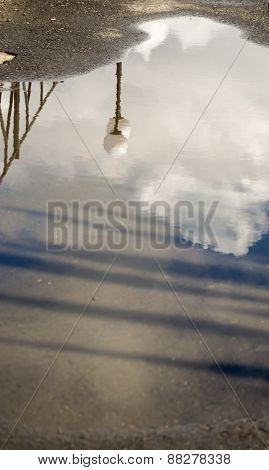 Lampost Reflection