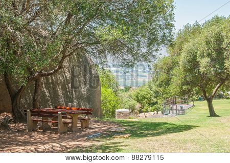 Picnic Spot At The Afrikaans Language Monument