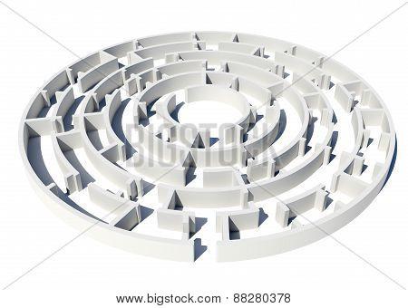 Model of labyrinth