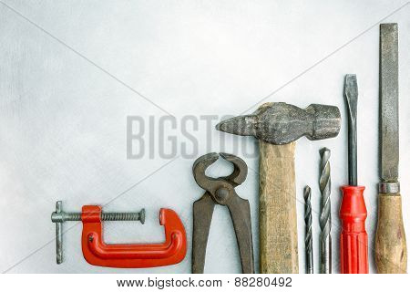 Old Construction Tools