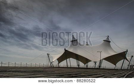 Deserted Sea Pavilion