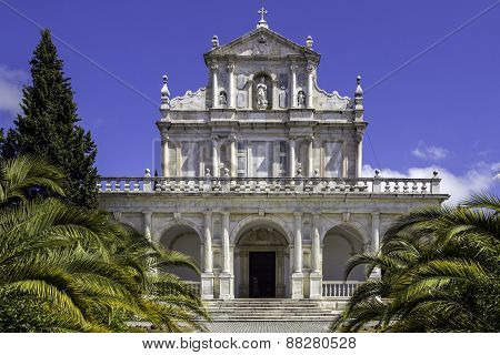 Convent Of Santa Maria Scala Coeli, Popularly Called Cartuxa Convent, A Religious Building Located I