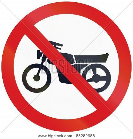 No Motorcycles In Argentina