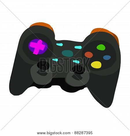Vector cartoon flat Gamepad icon.