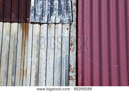 Rusty Zinc Door